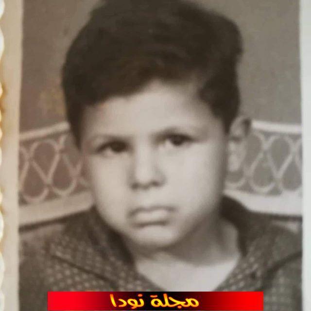 صورة خالد الصاوي وهو طفل