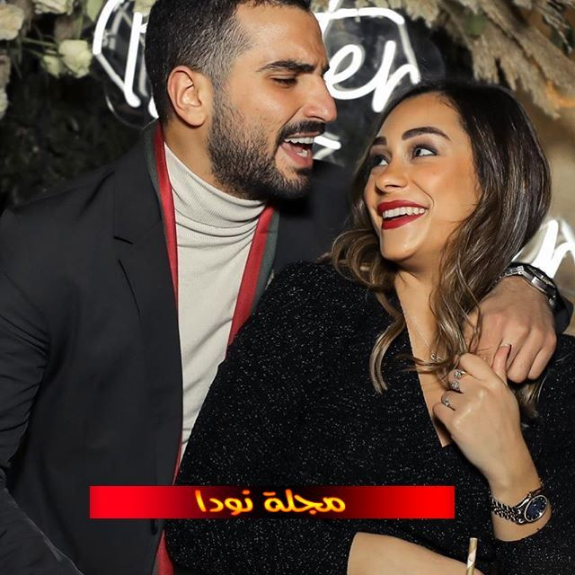 صور محمد الشرنوبي وزوجته