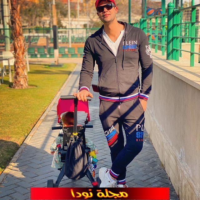 محمد اماممع ابنه