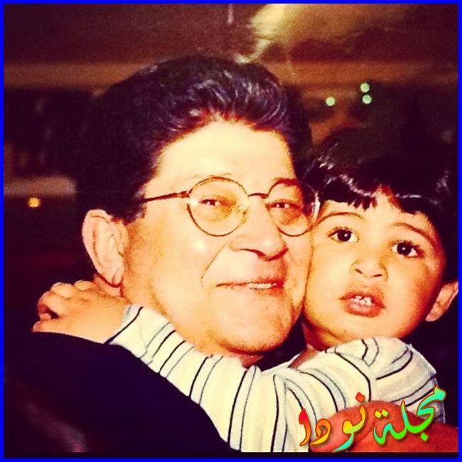 محمود عمرو ياسين وهو صغير طفل
