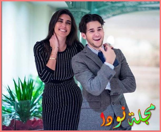 ياسمين صبري وأخوها الصغير