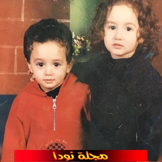 احمد خالد عنان وهو صغير