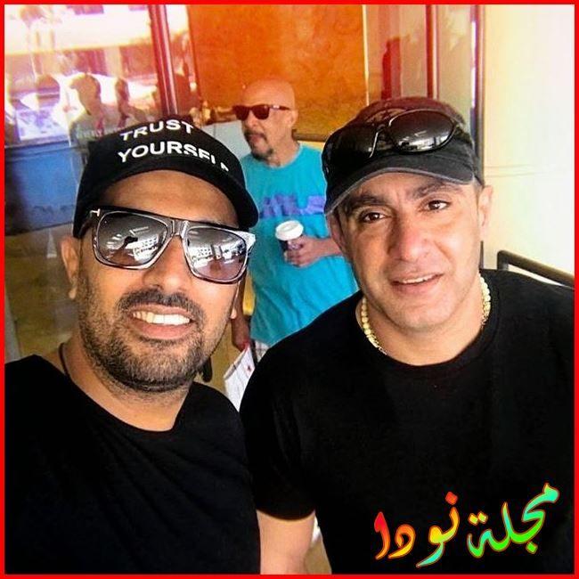 الفنان احمد السقا والمخرج محمد سامي
