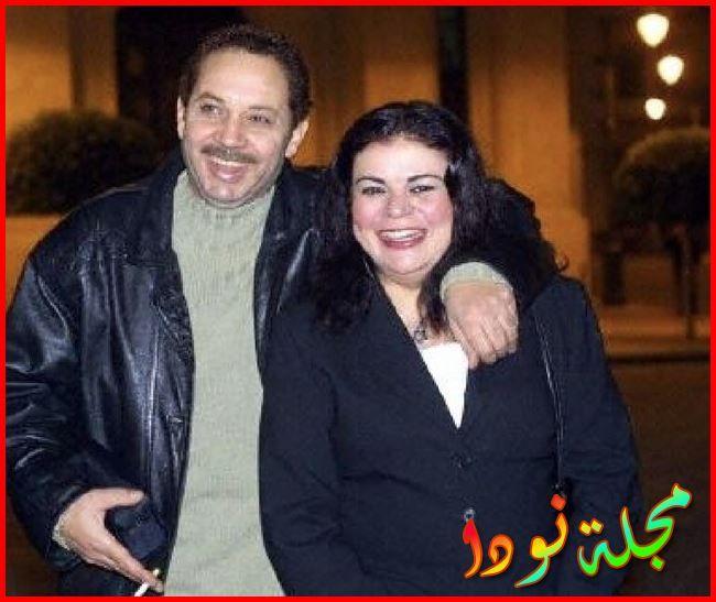 الفنان كمال ابو رية وماجدة زكي