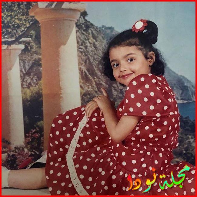 صورة مارتينا عادل وهي طفلة