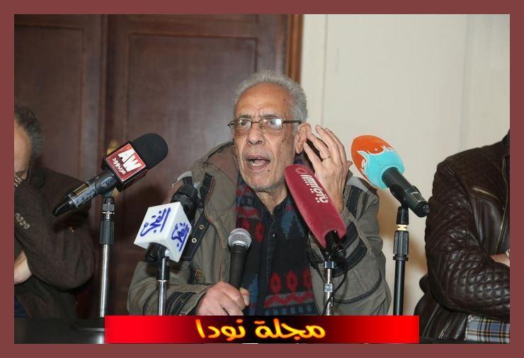 نبيل الحلفاوي في مؤتمر صحفي
