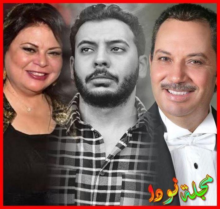 نجل الفنان كمال ابو رية وماجدة زكي