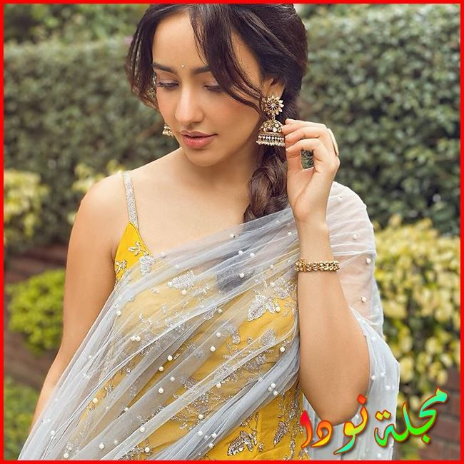 Neha Sharma بالزي الهندي
