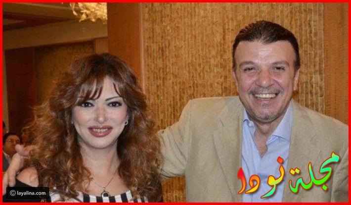 أحمد سلامةوزوجته منى جلال