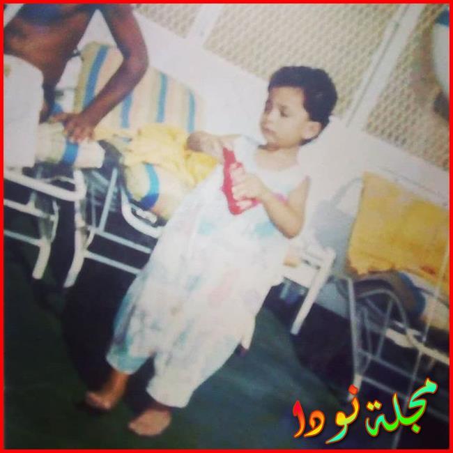 أحمد عبد الله وهو صغير