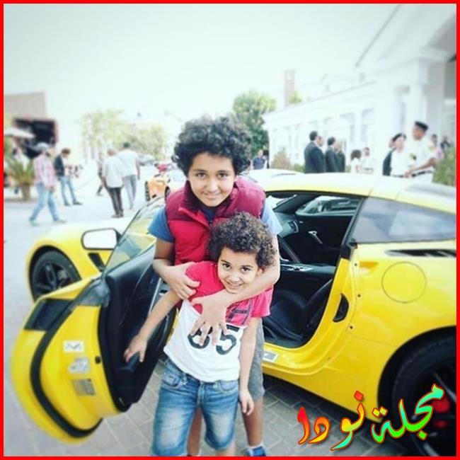 عمرو سعد زوجته وأولاده