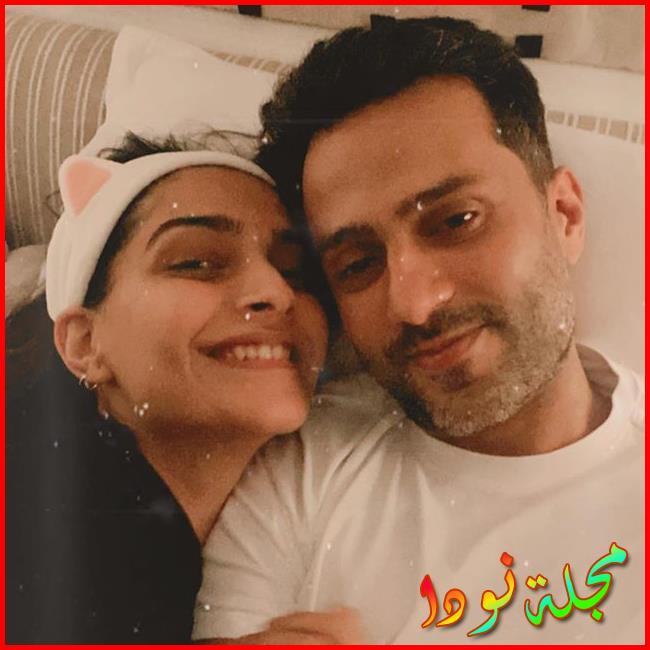 Sonam Kapoor Ahuja وزوجها