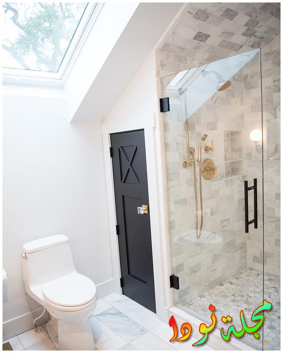 أحدث ديكورات حمام من بورسلين