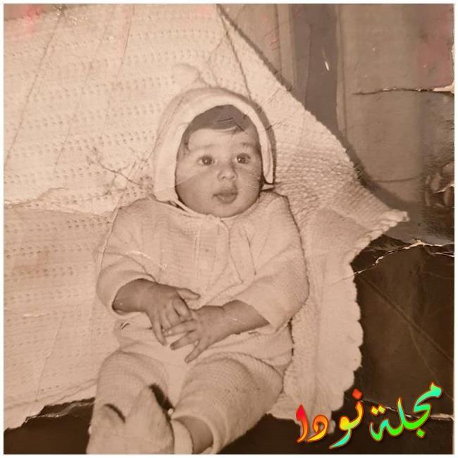 أمير شاهين وهو صغير