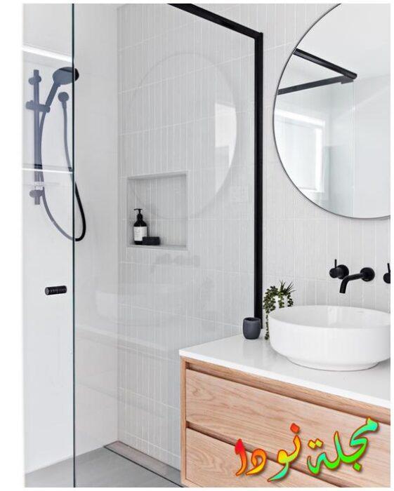 حديثة متباينة حمامات بيوت للوحدات