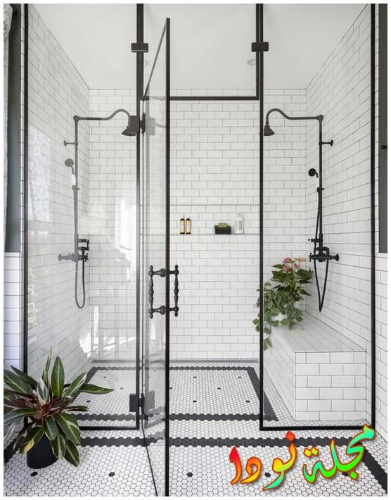 حمامات ألوان موزاييك