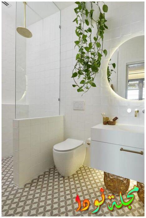 حمامات كابينة مساحات مختلفة