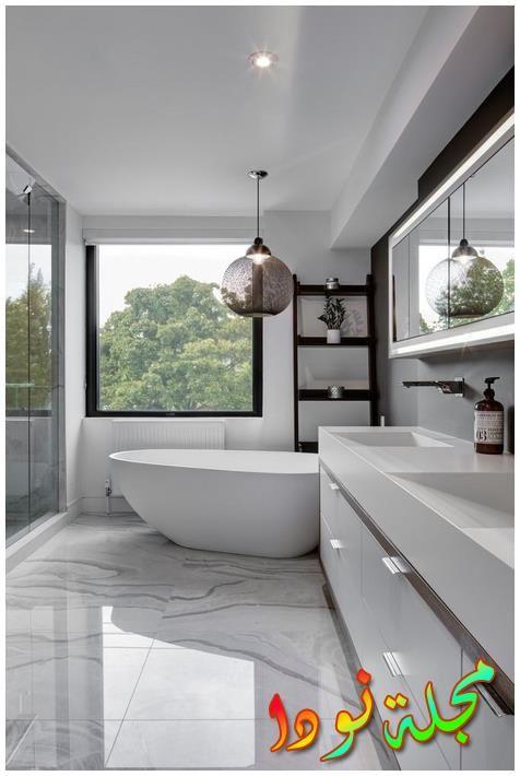 حماما وكأنه لوحة جميلة