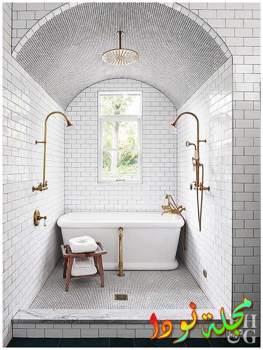 حمام متوسط موزاييك