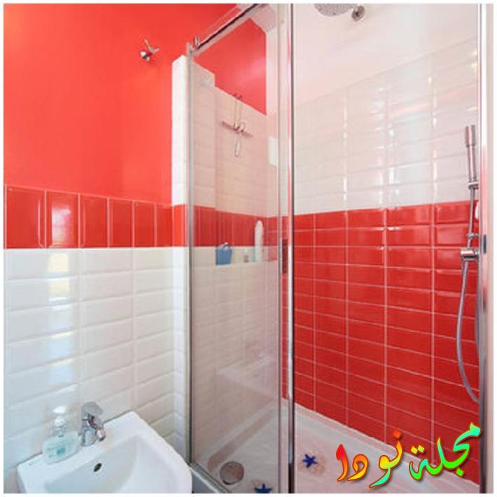 حوض صندوق ، أسطح ذات بأس ومرحاض مثبت على الحائط