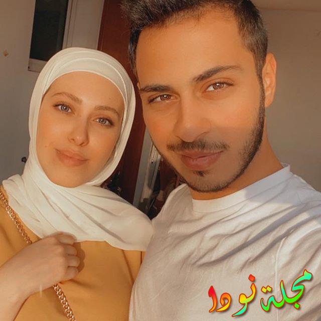 خطوبة الوليد مقداد ونور غسان زوجته