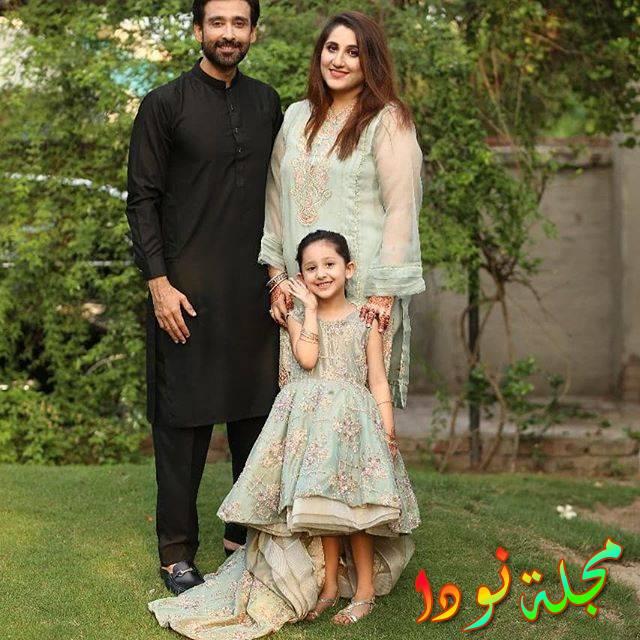 سامي خان وزوجته وابنته