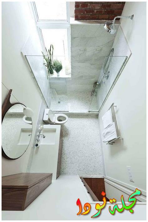 صورة تصميم رخام حمامات فخم