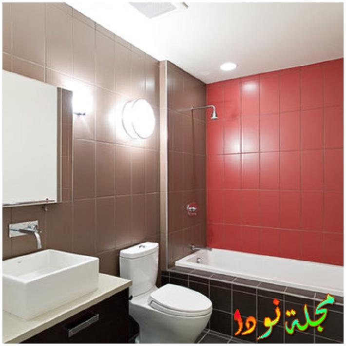 صورة عظيمة لأرضية الحمام الرخامية ذات اللون البيج العادي